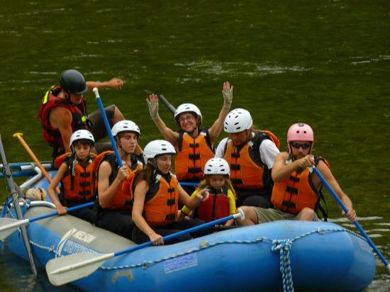 Nelson Whitewater Rafting Co. : Amazing experience!!!