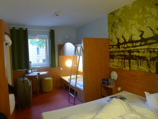 B&B Hotel Heilbronn: Familieværelse