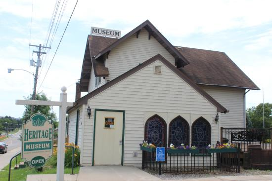Βιρτζίνια, Μινεσότα: Virginia Area Historical Society Heritage Museum