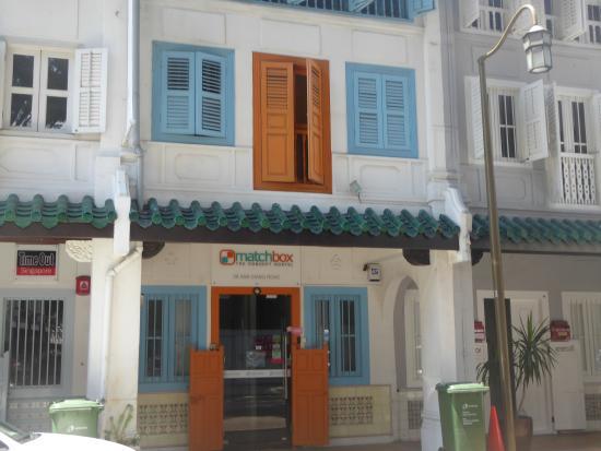Matchbox The Concept Hostel: hostel