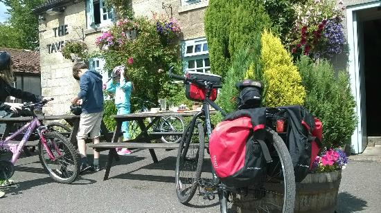 The Tavern is a great family cycling destination