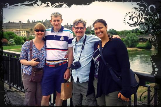 Cocoa & Grapes - Chocolate and Wine Tasting Tours & Events : Such a delighful tour group on 25 July 2015