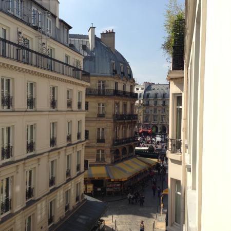 rue de la huchette picture of hotel du mont blanc paris tripadvisor. Black Bedroom Furniture Sets. Home Design Ideas