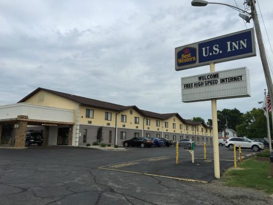 Best Western U. S. Inn: Outside view
