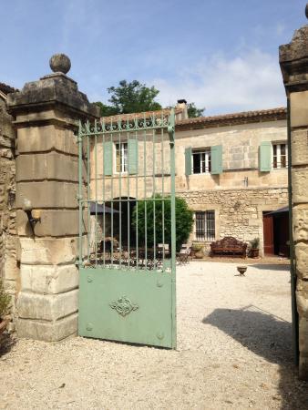 Le Mas des Comtes de Provence : Entrée et lieu de cocktail