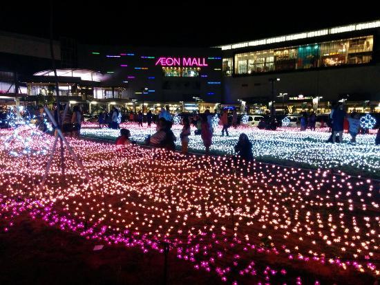 Tangerang, Indonesien: Aeon Mal di malam hari