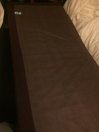 Premier Inn Manchester (Heaton Park) Hotel: Is this really a bed?
