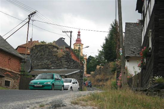Rabatejn nad Strelou, Republik Ceko: Main street of Rabštejn nad Střelou