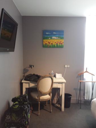 Hotel 19'Cent : chambre1