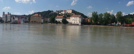Hotel Restaurant Dreiflussehof: Passau an Donau, Inn und Ilz