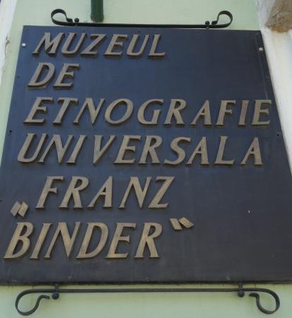 """Franz Binder World Ethnographic Museum: Muzeul de etnografie universala """"Franz Binder"""""""
