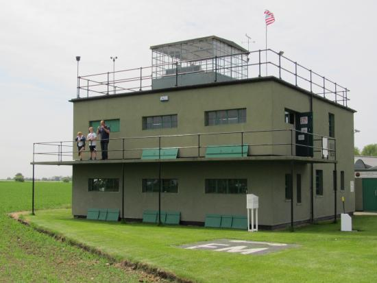 Woodbridge, UK: WW2 Bomber Control Tower and Museum