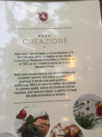 Restaurant du Cheval-Blanc: un peu d'histoire