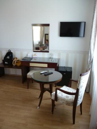 Hotel Villa Vice: angolo salotto