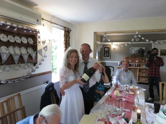 Park Broom Lodge: our wedding reception