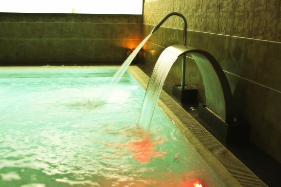Cuello de cisne y cascada fotograf a de h2o spa - Mejor spa sevilla ...