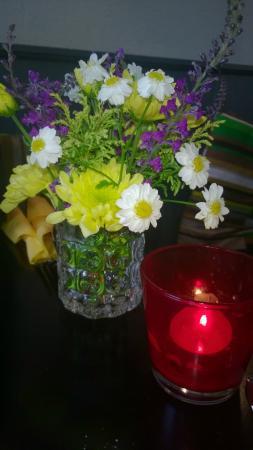 Connemara Greenway Café & Restaurant: Déco de table
