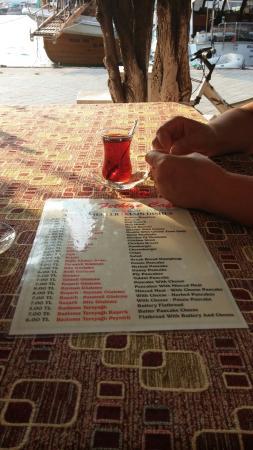 Fethiye belediyesi aile çay bahçesi cafe dondurma