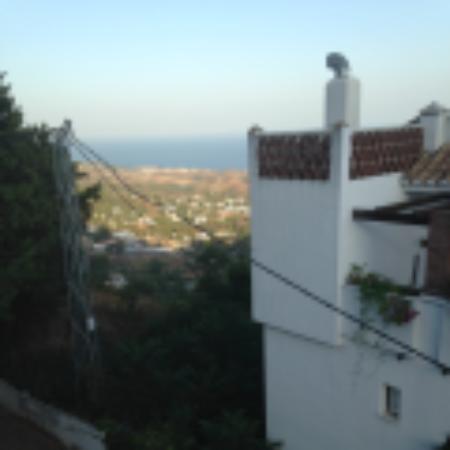 El Escudo de Mijas : vistas desde la terraza