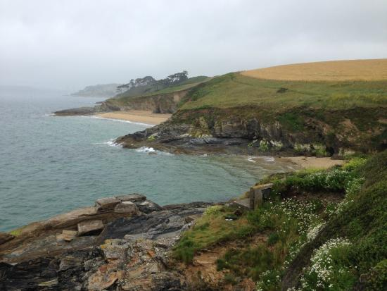 St. Mawes, UK: headlands stretch into the distance