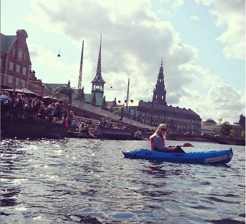 Kajakhotellet: Kayaking in the channels of Copenhagen