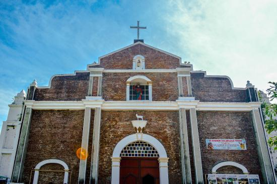 Facade of the Bacarra Church