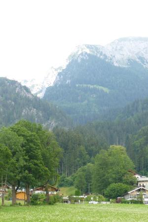 Bergheimat: Vue depuis le balcon