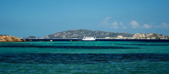 Santo Stefano Resort: Vista dalla spiaggia
