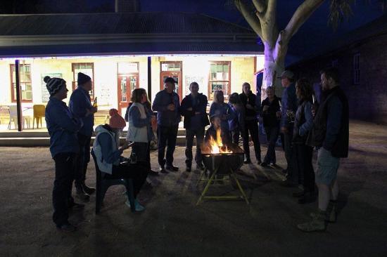 Tibooburra, Australia: Nice fire
