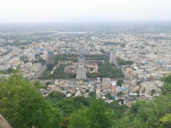Thiruvannamalai, India: view