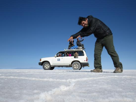 Salar de Uyuni: Ataque do gigante