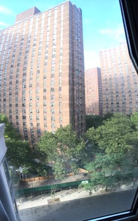 Questa è la vista dal 7° piano  verso la 92th strada