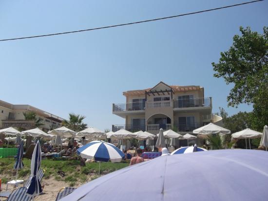 Top left balcony room 390 picture of zante maris hotel for The balcony hotel zante