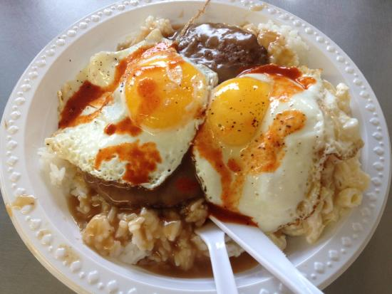 Loco Moco Picture Of Rainbow Drive In Oahu Tripadvisor