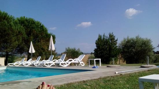 Agriturismo il Geranio: La piscina