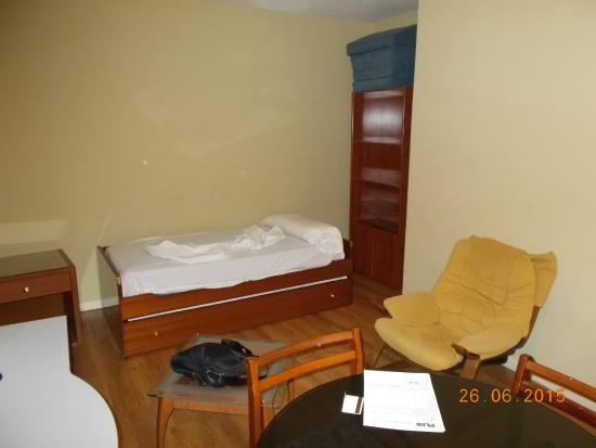 Apartamentos Juan Bravo: Гостиная
