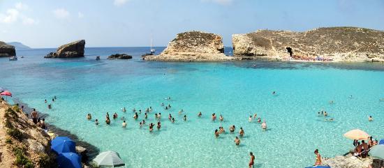 מבט על הלגונה Picture Of Gozo Amp Comino Blue Lagoon