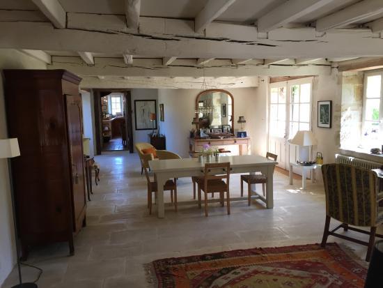 La Frelonniere : lounge area