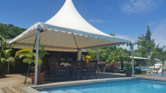 Petite Calivigny, Grenada: relaxing.