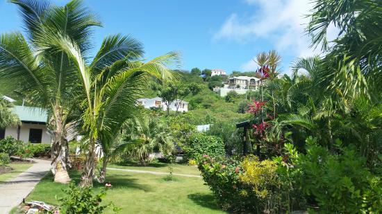 Petite Calivigny, Grenada: what a view.
