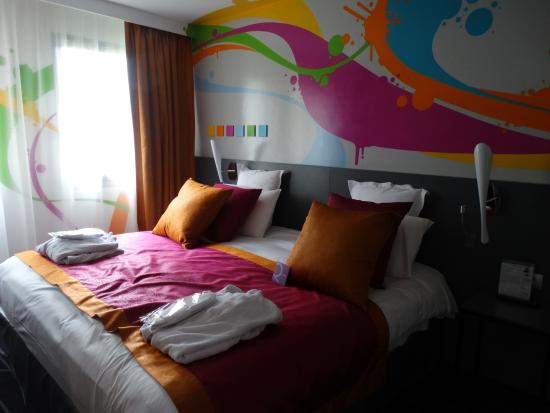 Mercure Rouen Champ de Mars Hotel: The room concept