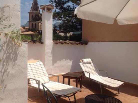 Ca'n Isabel: The terrace room!