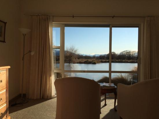 Twizel, New Zealand: Bedroom with a view!