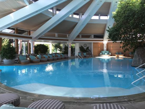Sonnenalp Resort: Pool-Landschaft in der Sonnenalp