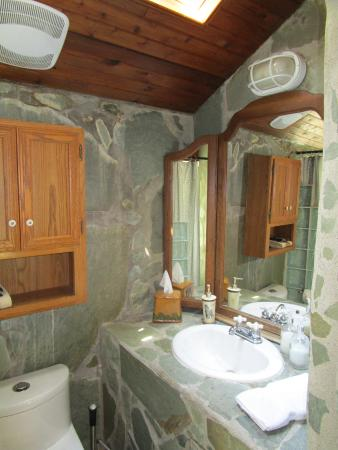 The Stone Hedge Bed and Breakfast: Badezimmer