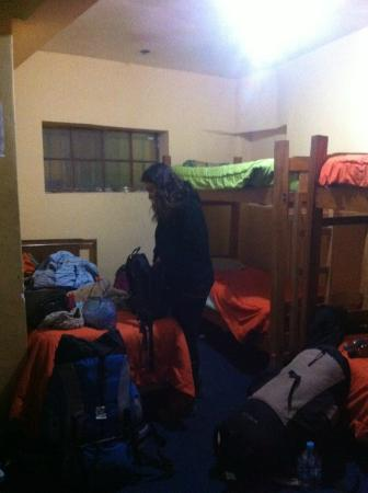 Bash and Crash Hostel: Habitacion compartida