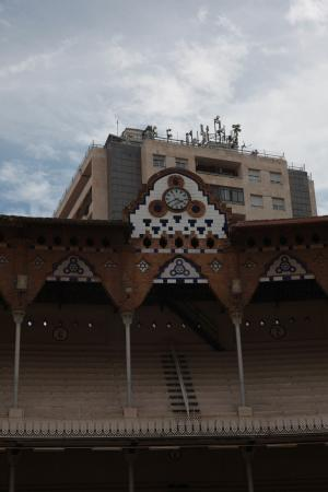 Plaza de Toros Monumental de Barcelona: zegar