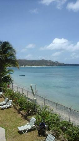 Grand Anse Beach Palace Hotel: view