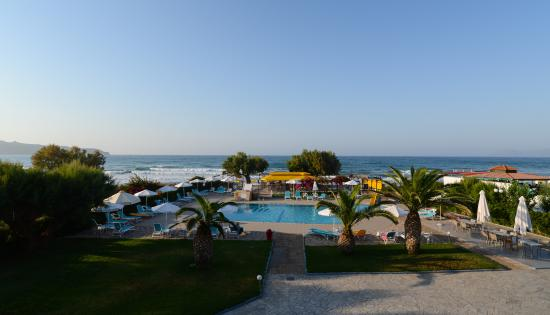 Hotel Sea Side: View from our balcony