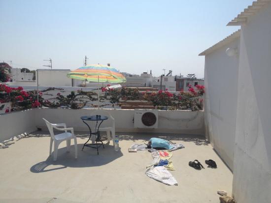 Pension Rena: Roof Terrace